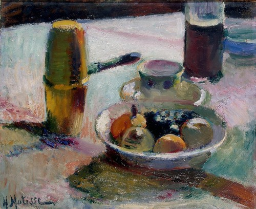 Henri Matisse - Fruit and Coffeepot [c.1898]
