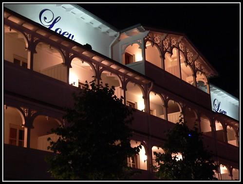 Fassade des Hotel Loev