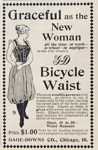 1897 GD Bicycle Waist