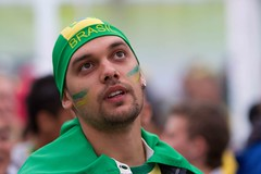 Brazil (Popeyee) Tags: world pictures cup sports canon southafrica fan photo football flickr gallery foto photographer emotion image photos pics fifa soccer watching picture images wm celebration wc fotos fans bild futebol bilder journalist celebrating 2010 sudafrica 2011 fifaworldcup2010 worldcup2010 popeyee popeyeeflickr