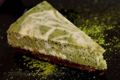 Matcha cheesecake 2