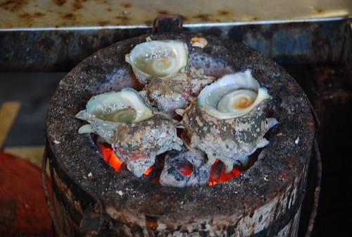 サザエの壷焼き