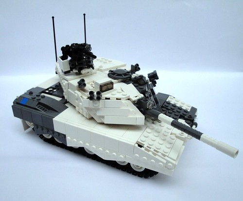 "C5A ""Arctic Wolf"" Main Battle Tank"