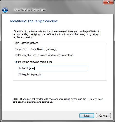 Automatically resize/reposition a window – PTFB Pro