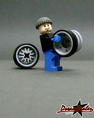 DUB Wheels (ZetoVince) Tags: car greek lego vince vehicle instructions zeto zetovince dreamdealer
