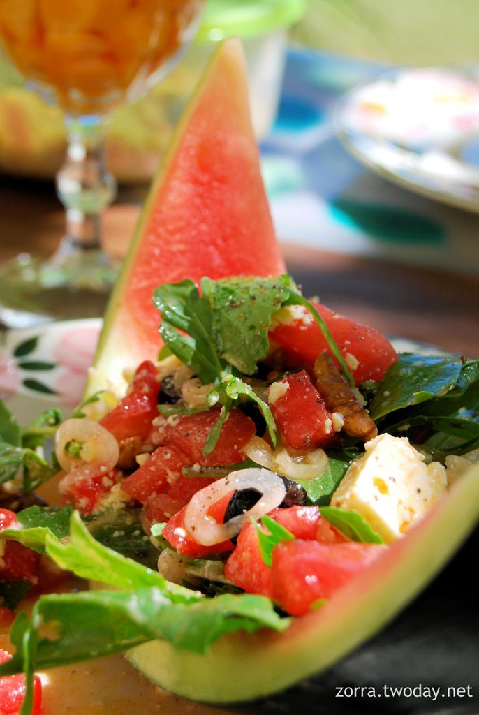 Würziger Wassermelonen-Salat à la Estefania