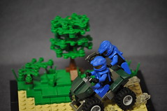 LEGO Halo Valhalla (Vengeance of Lego) Tags: blue red 2 3 1 er lego 5 live 4 halo xbox 360 s drop elite orbital pro shock vs valhalla troop spartan mongoose verse xbl odst