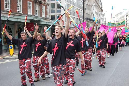 Jesus Army London Day 2010 - shouts