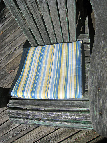 Sewing Project - Chair Cushions