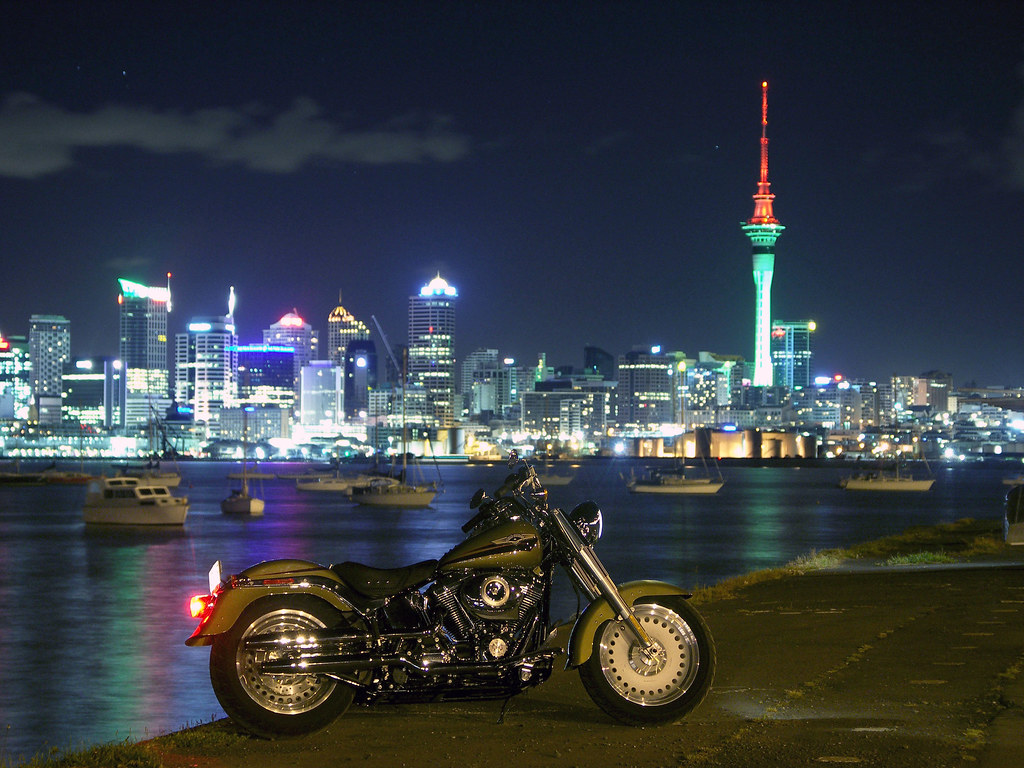 Auckland and Fat Boy