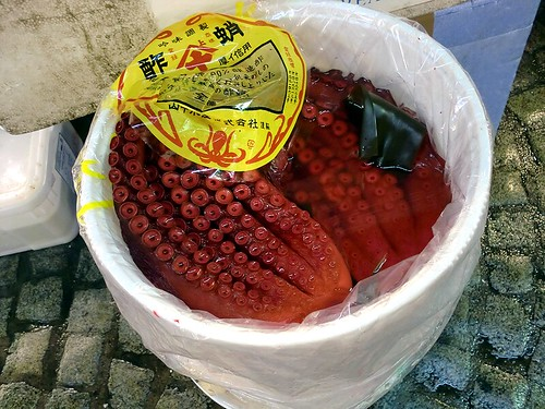 Tsukiji Ichiba: Octopus