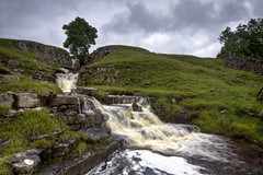 Cow Close gill Lower falls. (47mki) Tags: canon landscape waterfall rocks stream yorkshire falls limestone northyorkshire dales cray yorkshiredales canon7d