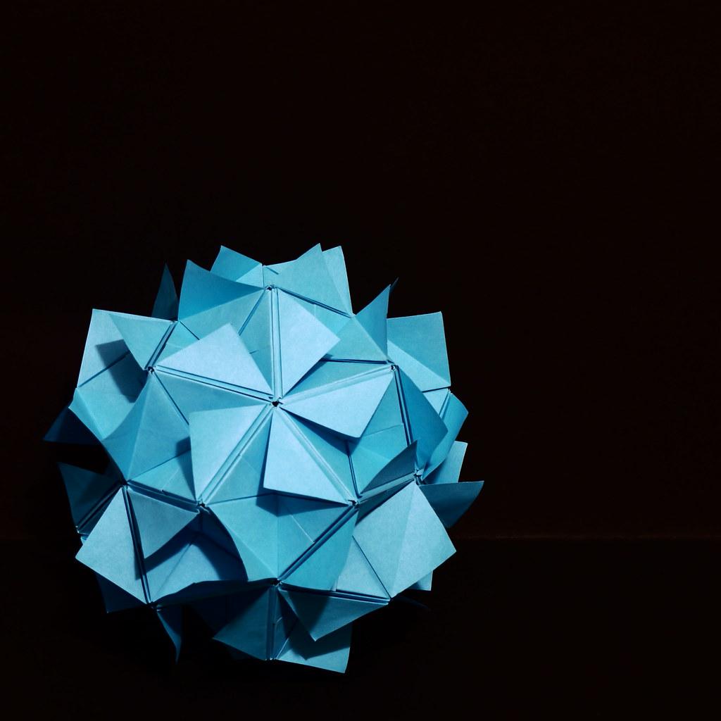 The World's Best Photos of icosahedron and kusudama ... - photo#15