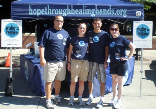 Water = Hope volunteer crew in Moline, IL