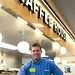 Tech Square Waffle House Manager Travis Bell