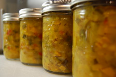 Zucchini Garden Pepper Relish