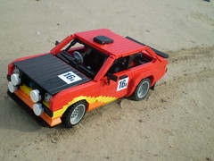 1978 Ford Escort Mk2 Rally Car (/>ylan/>.) Tags: red 2 orange cars ford car yellow