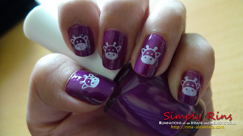 Nail Art Holy Cow 02
