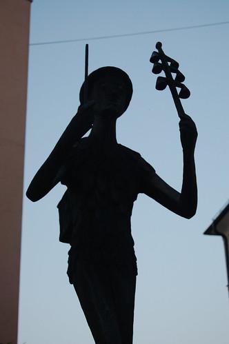Magic Flute Statue