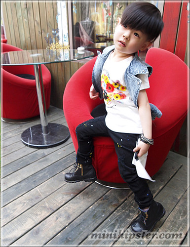 JaeHwan. MiniHipster.com: children's childrens clothing trends, kids street fashion, kidswear lookbook