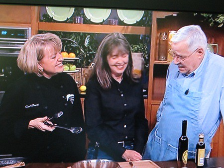 Carol Dearth, Kathy Patterson, George Ray on KCTS Cooks