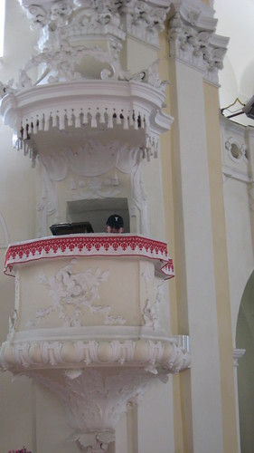 in the pulpit