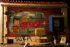 (explore) Invisible (Senzio Peci) Tags: italy japan amazon italia mini cardboard sicily giappone sicilia kaiyodo enoki yotsuba danbo patern tomohide revoltech danboard  enokitomohide