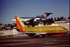 Boeing ; Boeing 737 ; 727 N61SW ; N4617 (San Diego Air & Space Museum Archives) Tags: southwest aviation boeing 737 southwestairlines aeronautics pw 727 b737 prattwhitney swa boeing737 b732 737200 amtec 7372h4 boeing737200 canada3000 prattwhitneyjt8d avior jt8d jt8d9a sdasm jt8d9 737200adv royalair 737200a pwjt8d aviorairlines 7372h4adv 737200advanced b737adv b732adv 7372h4a 7372h4advanced prideair n61sw n4617 canada3000airlines yv1576 yv643c yv234t cfryl n324ca amteccorporation quastler copyrightbelongstoiequastler