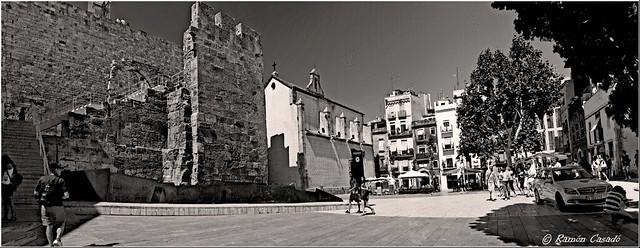 Panoramica-- Plaza del Rey --Tarragona---El Worldwide Photowalk