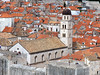 Protruding / Herausragend (Teresa (be there...)) Tags: old city red vacation holiday color tower church town sommer urlaub kirche croatia tourist medieval roofs stadt walls turm altstadt dach farbe ferien dubrovnik mauer balkan kroatien mittelalter dächer starowka