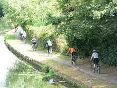 25 July 2010 Grand Union Canal (Kingston Cycling Campaign) Tags: bike canal cyclist union grand kingstoncyclingcampaign