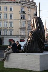 photoset: Subodh Gupta. Kunsthalle Wien public space Karlsplatz