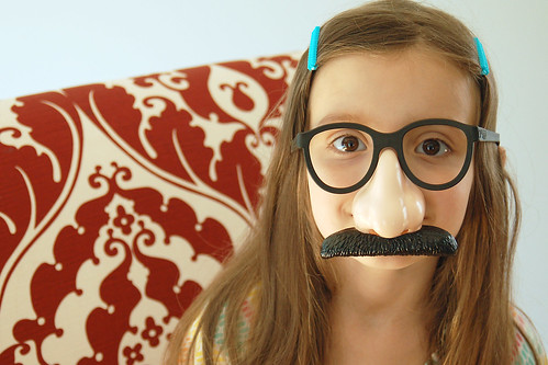 Groucho glasses.