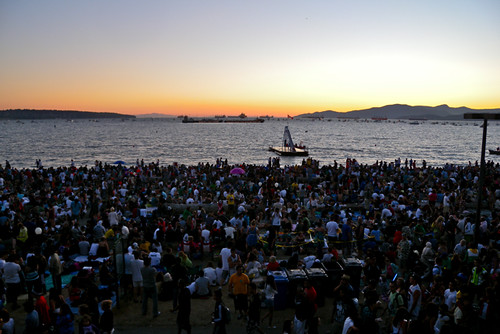 English Bay before the Fireworks (Spain)