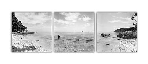 Paradise Island - Triptych