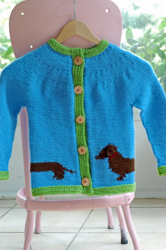 Weenie Dog Sweater 03