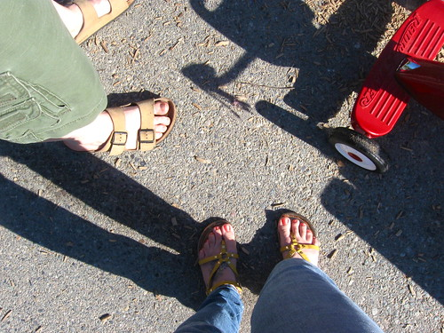 Sandal weather