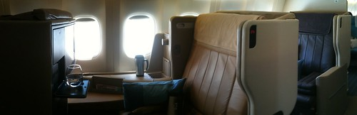 My seat on SG 0015