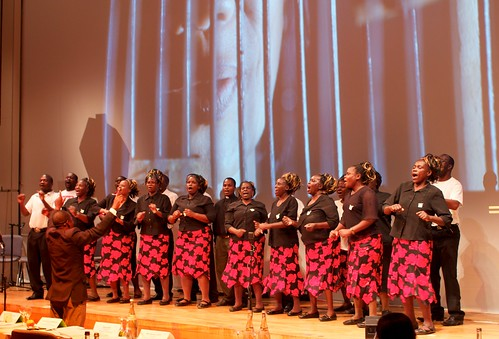 Zimbabwe choir sings