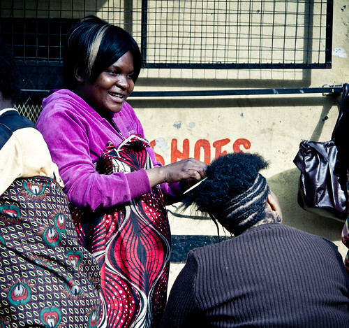 Jozi walkabout - Hair dresser