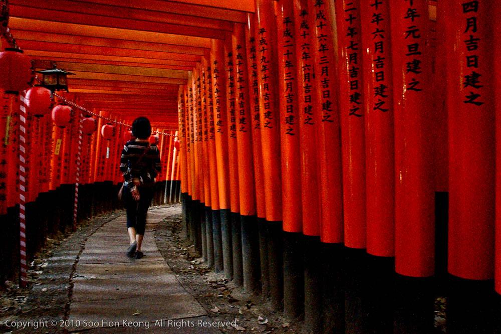 Fushimi Inari Shrine @ Kyoto, Japan