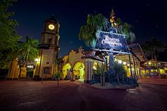 Midnight at Pirates (Todd Hurley Photography) Tags: longexposure nightphotography family vacation skeleton fun orlando florida ambientlight magic pirate midnight mickeymouse crowsnest waltdisneyworld hdr highdynamicrange t