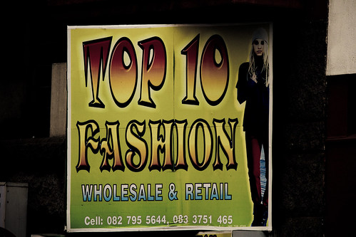 Jozi walkabout - Top 10 fashion