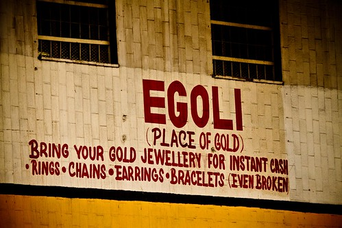 Jozi walkabout - it's the place of gold