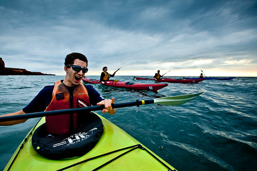 Sea kayaking at Iles de la Madeleine, QC - Flickr Photo Credit: Benoit Dery