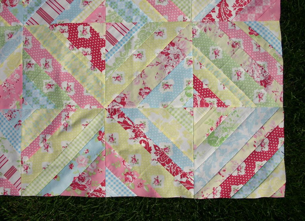 Darla String Quilt - squares