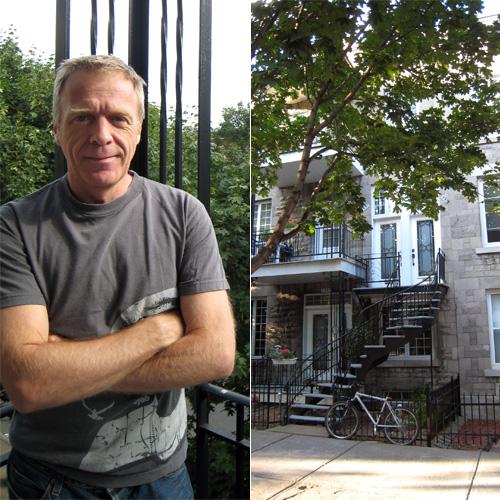Claude et son appartement