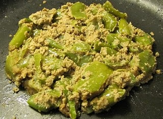 Green Chilli Sesame Curry @ Super  Yummy Recipes