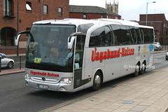 Neubauer Reisen FL-NR163 (Howard_Pulling) Tags: uk mercedes coach yorkshire german mercedesbenz hull coaches deutsche castlestreet a63 travego neubauerreisen flnr163