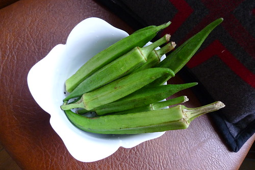 day 361: greenmarket okra